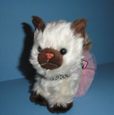 American Girl Pet Himalayan Kitten Kitty Poseable Cat w princess collar & tutu