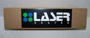 NEW LASER HARDNOSE DOUBLE ACTION 45 DEGREE ROLLER SKATE SPEED PLATES SIZE 11.0