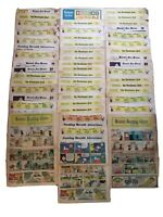Lot 47 | Sunday Newspaper Comics Color Strips 1974 Blondie, Phantom, Dick Tracy