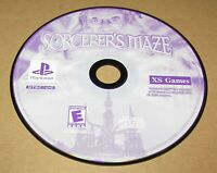 Sorcerer's Maze (Game Only) Playstation PS1 Fast Shipping