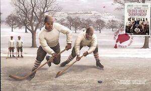 Canada FDC#3233 - Colored Hockey Championship (2020) P (92¢)