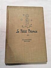 1946 Le Petit Prince Antoine De Sainte-Exupery Little Prince Educational Edition