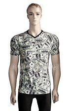 Markenlose Herren-Freizeithemden & -Shirts mit V-Ausschnitt