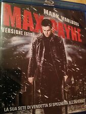 Max Payne blu ray + dvd versione estesa