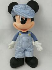 Walt Disney Mickey Mouse conducteur de train Talking Disney Store tirette Ref:11