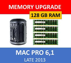 Samsung 128GB 4X32GB DDR3 1600 ECC Memory RAM for Apple 2013 Mac Pro 6,1 Upgrade