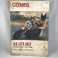 Clymer Suzuki GS750 Fours 1977-1982 Motorcycle Manual