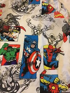 Marvel Fitted Sheet Only Comics Good Guys Microfiber Fitted Sheet Only For Twin