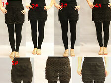 Casual Floral Regular Size Pants for Women