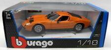 Burago 1/18 Scale Diecast -18-12072 Lamborghini Miura 1968 Orange Model Car