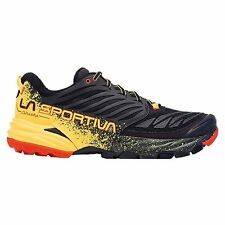 La Sportiva Men's Akasha - Black / Yellow - 42