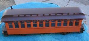 Bachmann Chicago Milwaukee St Paul & Pacific Orange Passenger Car #12 G Gauge~b