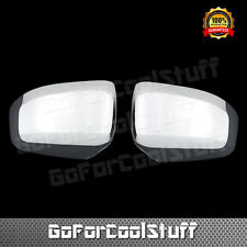 For Jeep 11-16 Grand Cherokee / Dodge Durango Chrome Top ABS Mirror Covers