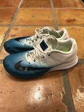 Mens Sz 11.5 Nike Air Zoom Elite 9 Running Shoes Sneaker White Dark 863769-404