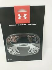 Under Armour Antler Logo Vehicle Emblem 2 in Package Great Accent Free Shipping