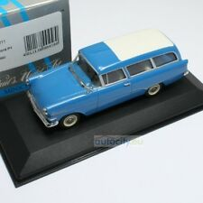 MINICHAMPS OPEL OLYMPIA REKORD ESTATE BLUE 430043211