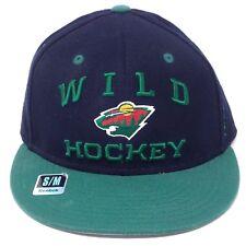 Minnesota Wild Reebok NHL Center Ice Collection Stretch Fit Hockey Cap Hat Sm/Md