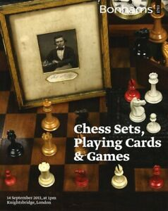 Bonhams 'Chess Sets, Playing Cards & Games' Auction Catalogue, September 2011