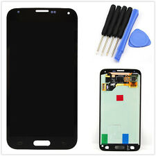 Front Complete LCD Touch Screen Glass Digitizer For Samsung Galaxy S5 i9600 Tool