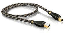 VIABLUE 21010 - KR-2 SILVER 2.0 CAVO HI END USB A/B Lungh. 1,5 metri 150 cm DAC