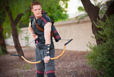 Functional Mongolian Style PVC Pipe Horse Bow - Handmade