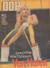 MAGAZINE OOR 1980 nr. 12 - VAN HALEN (COVER)/WIM T. SCHIPPERS/PASSIONS/VENNIK
