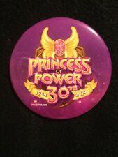 2014 SDCC COMIC CON Mattel Exclusive SHE-RA PRINCESS OF POWER 30th YEAR PIN RARE