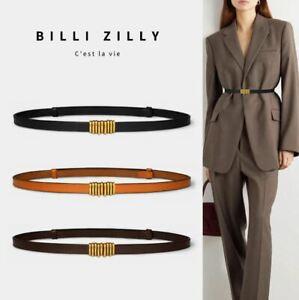 Stylish Leather Belt Skinny Belt Waist Belt Dress Belt Adjustable belt