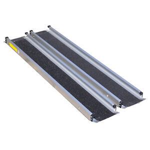 Aidapt Aluminium Folding Ramps Scooters Wheelchair Rollators – Multiple Lengths
