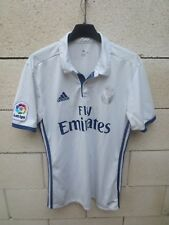 Maillot REAL MADRID camiseta ADIDAS football maglia shirt domicile blanc M