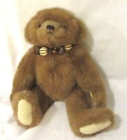 """VTG Boyds Bears Brown teddy bear Plush jointed the Boyds Collection 11"""" 1999"""