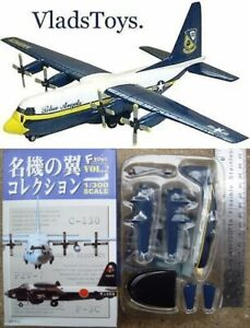 F-toys 1:300 Famous Wing Collection Vol 2 C-130 Hercules Blue Angels (1C)