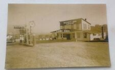 Old Greensburg PA. Buvett Inn Esso Gas, Lunch Room Lincoln Highway Postcard Repo