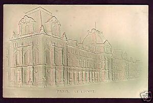 B0980+ 75 - CPA PARIS EN  RELIEF  DOME  LE  LOUVRE