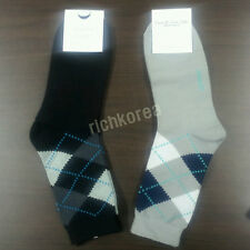 2 pairs Fashion dress casual Crew Cotton Socks Adult Womens Mens shoes size 7~10