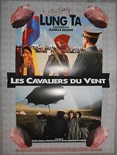 Affiche LUNG TA LES CAVALIERS DU VENT Giercke DE PONCHEVILLE 40x60cm