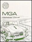 MGA Repair Shop Manual 1955 1956 1957 1958 1959 1960 1961 1962 inc. wiring MG