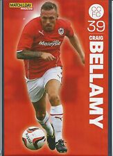 MOTD-POSTER 2013/14-CARDIFF CITY & WALES-LIVERPOOL-MANCHESTER CITY-CRAIG BELLAMY