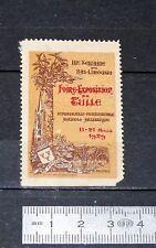 DELANDRE CINDERELLA VIGNETTE TIMBRE FOIRE EXPOSITION TULLE 1929 BAS LIMOUSIN