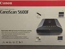 Brand New/Factory Box/Canon CanoScan 5600F Flatbed Scanner w/ Film Guides & ALL