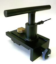 "5"" Adjustable Tool Rest For Compact Micro Mini & Jewelers Lathes 5/8"" Shank New"