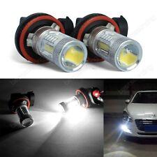 2 Ampoule H8 H11 SAMSUNG 15W LED Projecteur Anti-Brouillard Conduite Lampe Blanc