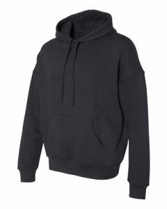 BELLA + CANVAS Unisex Sponge Fleece Pullover Sweatshirt Blank 3729 Black, XS