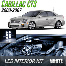 2003-2007 Cadillac CTS White LED Lights Interior Kit
