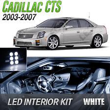 2003-2007 Cadillac CTS White LED Lights Interior Kit