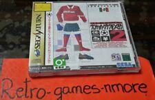 J League Pro Soccer Club Tsukurou 2, SEGA SATURN, NTSC-J, Japan, Authentic, New