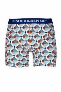 Fisher & Bennett Mens Underwear Multipack Three Pack Multi-Coloured Boxer Shorts