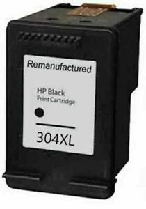 Refilled Ink For HP 304 XL Black Ink Cartridge HP 304XL For Use With HP
