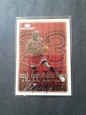 99-00 Upper Deck Mvp Michael Jordan Silver Script Mj Exclusives # 196 Bulls...