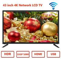 15'' 17'' 19'' 22'' 32'' 43'' 2K 4K HD LCD TV Flat Screen Television HDMI USB